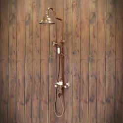 old-fashion shower set