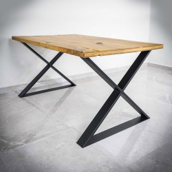 Table Legs X-SHAPED