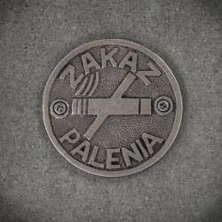 Emblemat ZAKAZ PALENIA