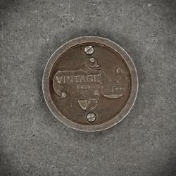 VINTAGE decorative emblem / badge