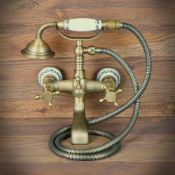 Antique Wall-Mounted Bath Shower Mixer OXFORD