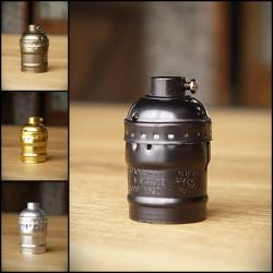 Bulb Holder OLD - Silver