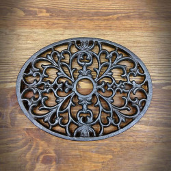 Grille - Decorative oval base