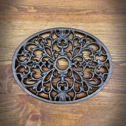 Grille - Decorative oval base