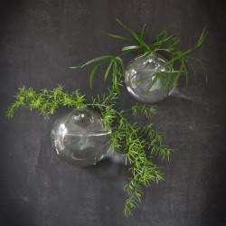 Glass ball / hanging vase KLING