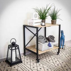 Racking, table, desk, industrial island IRON 80x85