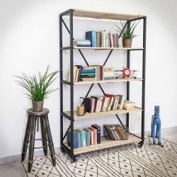 Industrial shelf racking,shelf unit IRON 120x195