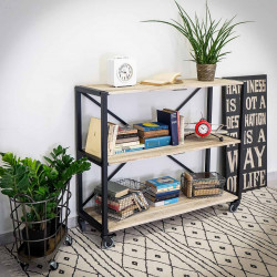 IRON 120x100 Industrial shelf unit/Shelf racking
