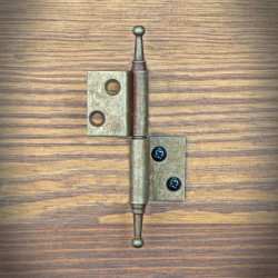 Furniture hinge RUSTYK left angle