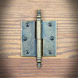 Hinge Brass RETRO right