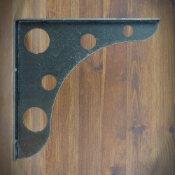 INDUSKOL 39 cm steel support shelf