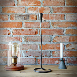 Rustic Candle Holder THOR M