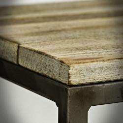 Coffee table, cupboard, base, flowerpot GART - BLACK