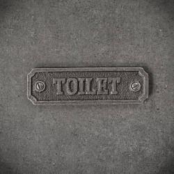 tabliczka toilet