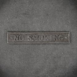 tabliczka żeliwna no smoking