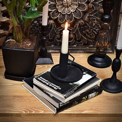 Thomas Candle holder with a tray
