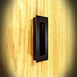 Recessed handle for furniture and sliding doors