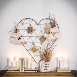 heart-shaped organizer