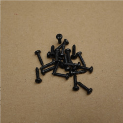 Screws 2,9x13 black (10pcs)