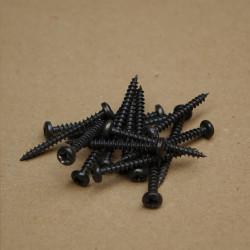 Screws 3,5x35 black (10pcs)