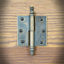 Hinge brass RETRO left