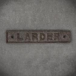 żeliwna tabliczka larder