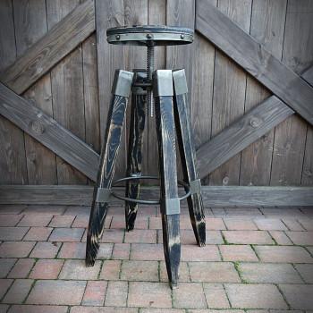 Hoker, Bar stool LOFTER BLACK