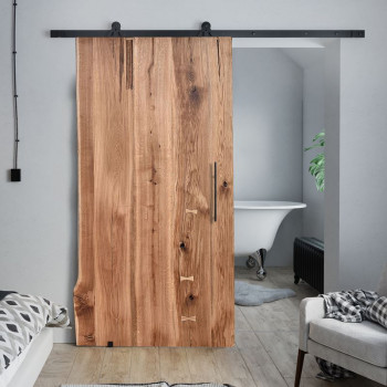 Oak Sliding Door ONE BOARD CUSTOMIZED
