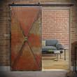drzwi stalowe nitowane