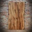 old style oak door