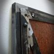 vintage steel door