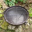 grill stalowy starodawny