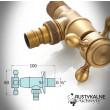 hose tap dimensions