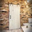 industrial style door guide