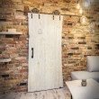 oak old style sliding door