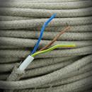 cotton braided white