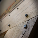 raw oak door