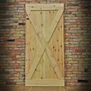 wooden antiqued door