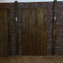pine sliding door
