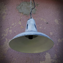 hanging white lamp loft style or rustic style