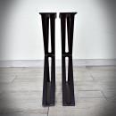 black steel leg