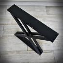 bench leg in black