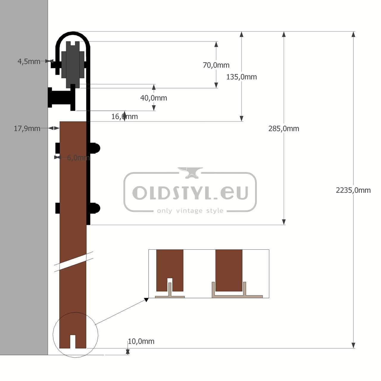 overview scheme door guide krawat