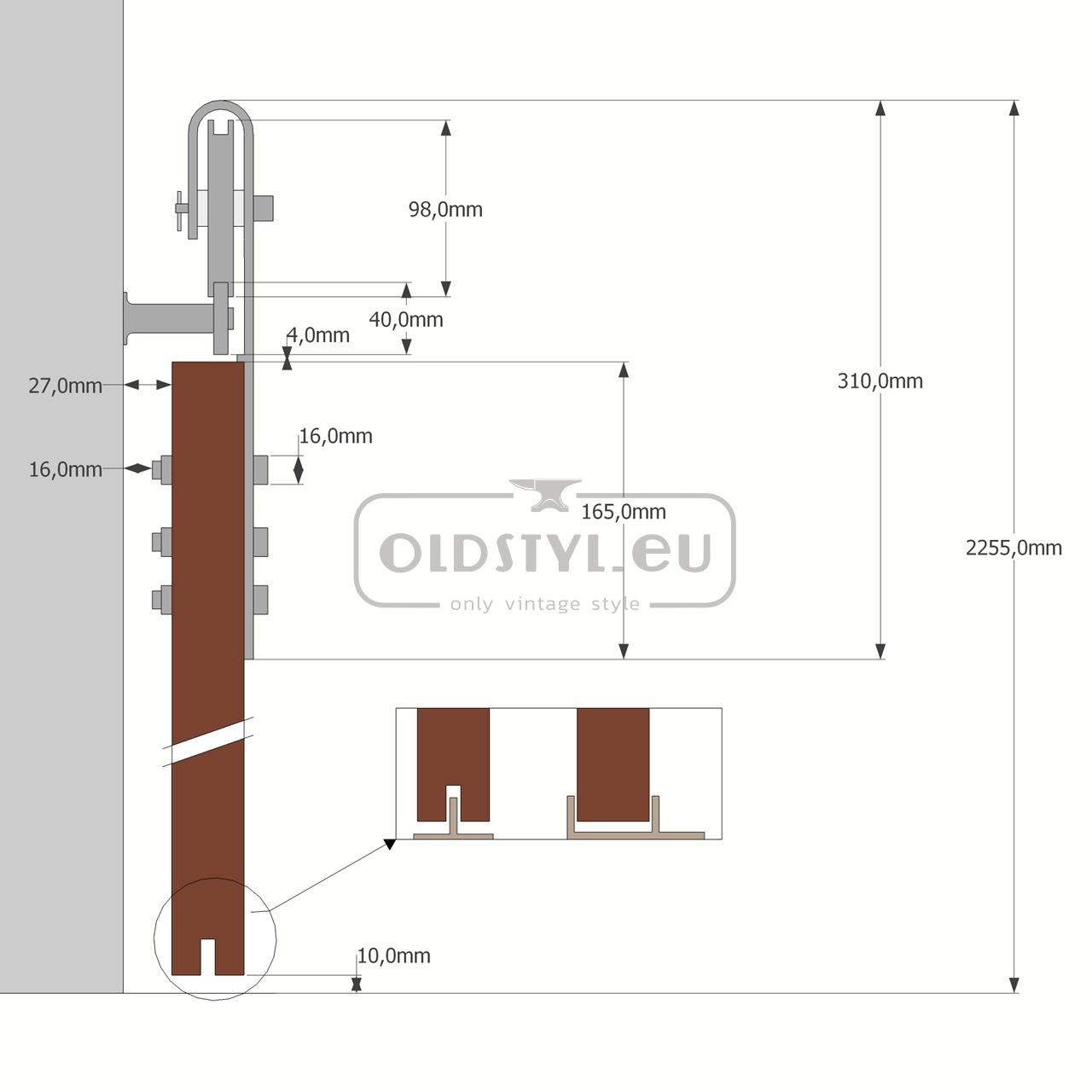 overview scheme door guide loft