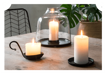 Industrial candlesticks